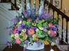 Best of Spring - Lilac, peonies, tulips, poppies, viburnum, delphinium for the BSO at Wye Hall