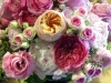 English bouquet - Garden roses and peonies at the Loews Annapolis Hotel